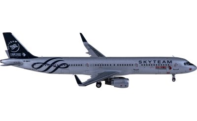 HYJLwings 1:400 China Eastern 中国东方航空 Airbus A321 B-8977 天合联盟