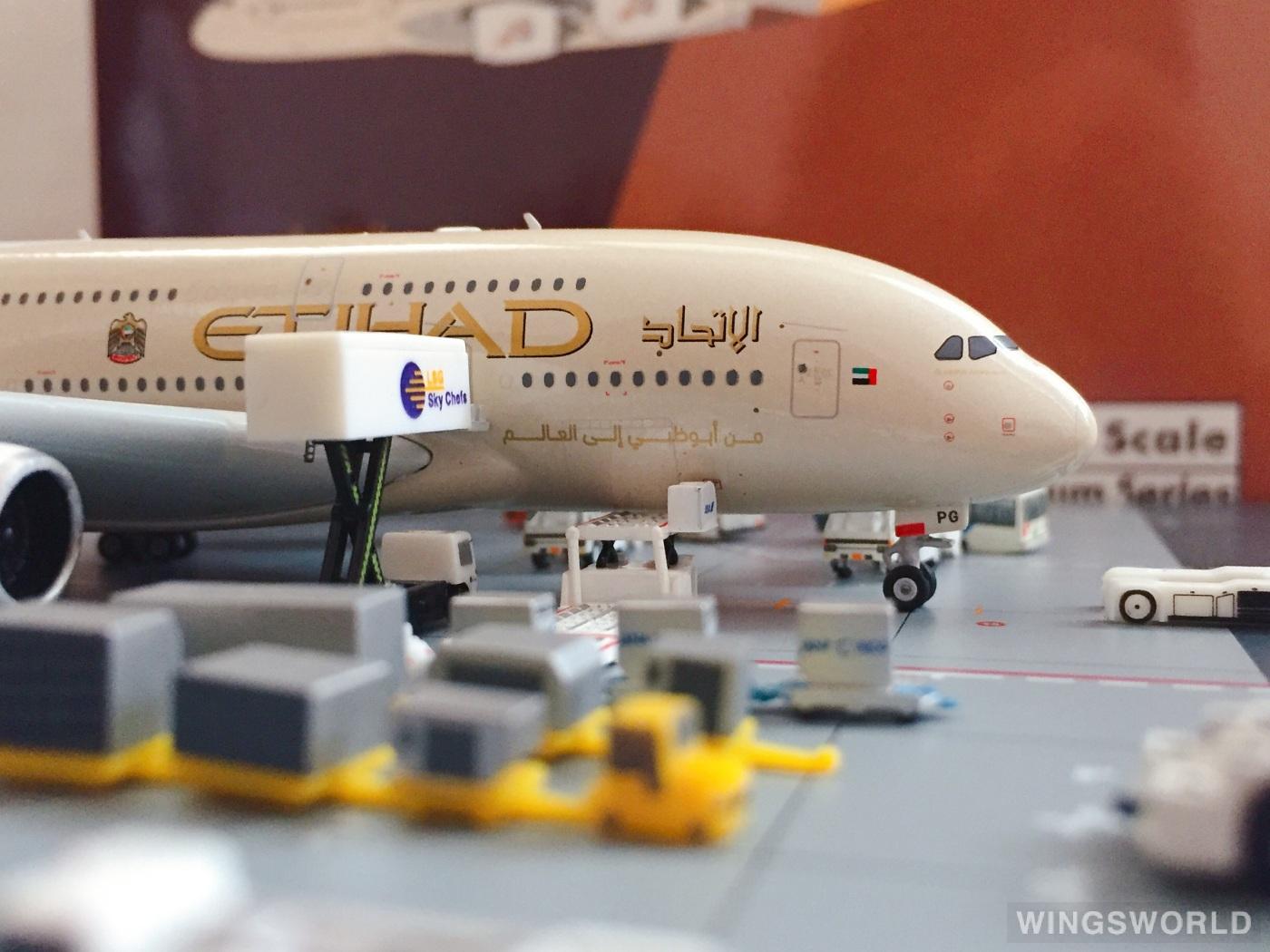 Phoenix 1:400 PH11393 Etihad Airways 阿提哈德航空 Airbus A380-800 A6-APG