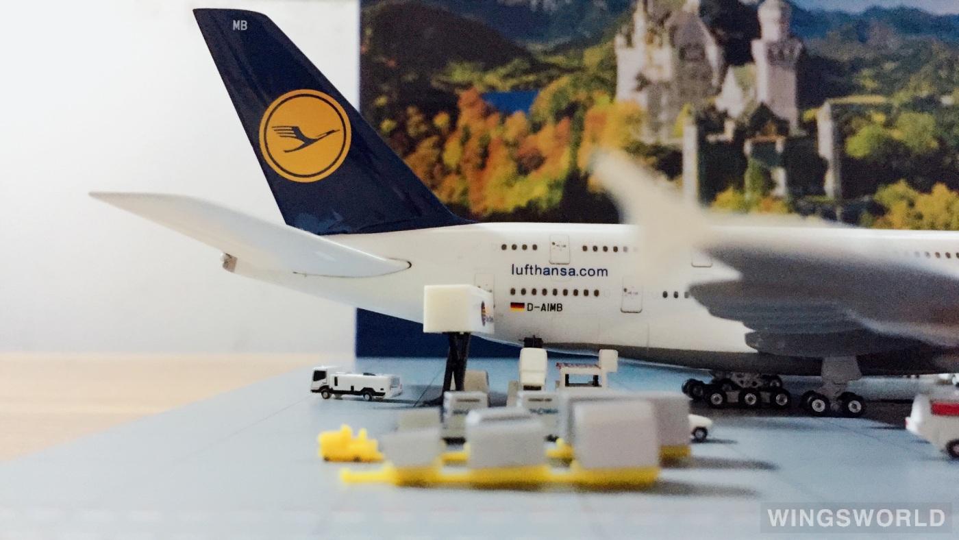 Phoenix 1:400 PH4DAIMB Lufthansa 汉莎航空 Airbus A380-800 D-AIMB