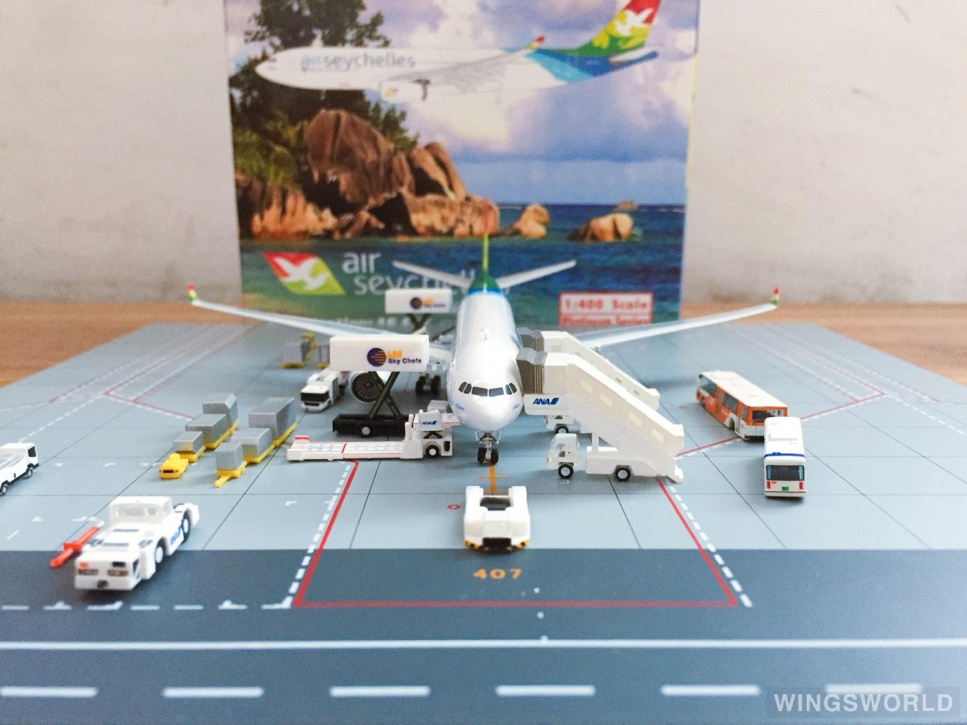 Phoenix 1:400 PH10757 Air Seychelles 塞舌尔航空 Airbus A330-200 A6-EYZ