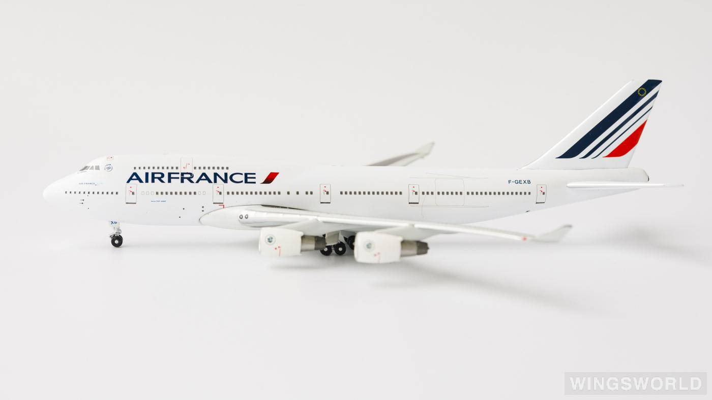 Apollo 1:400 A13013 Air France 法国航空 Boeing 747-400 F-GEXB