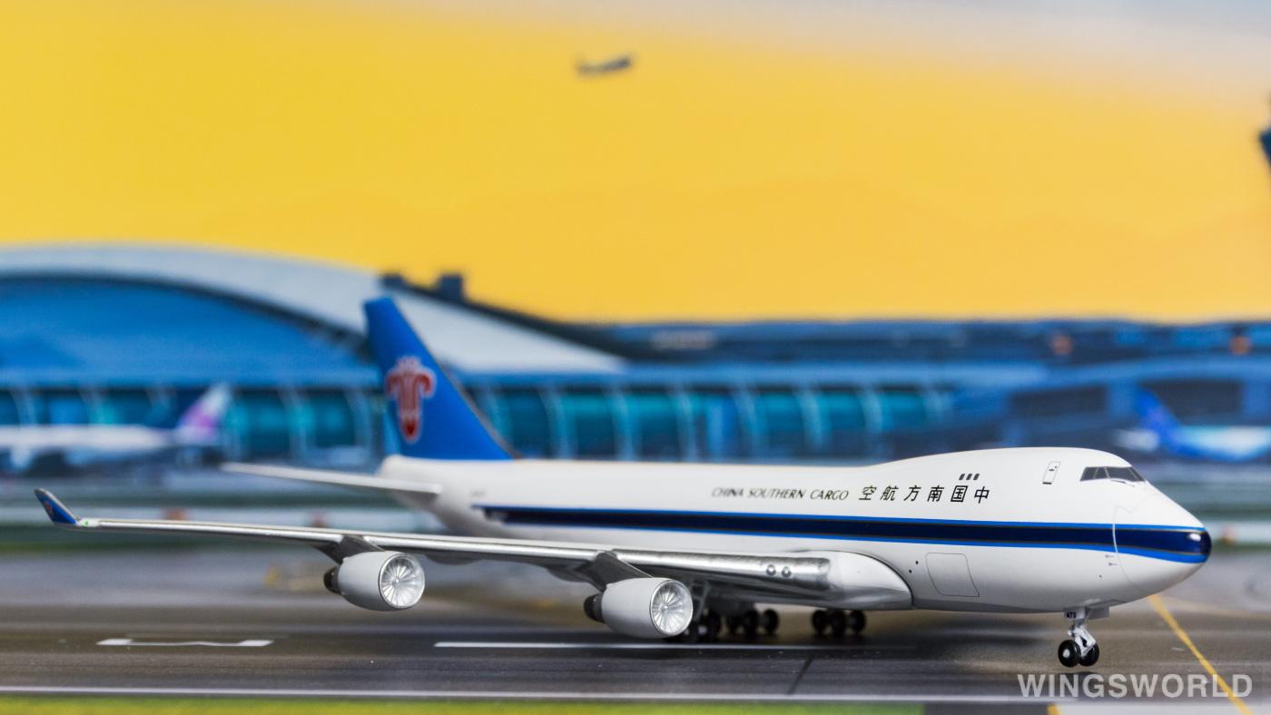 AeroClassics 1:400 ACB2473 China Southern 中国南方航空 Boeing 747-400 B-2473