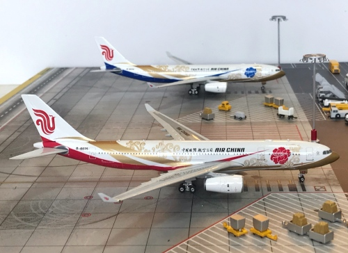Air China 中国国际航空 Airbus A330-200 B-6075 紫金 PH10899 Phoenix 1:400
