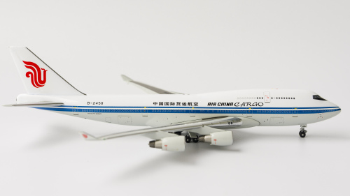 Air China Cargo 中国国际货运航空 Boeing 747-400 B-2458 1990s colors. A13115 Apollo 1:400