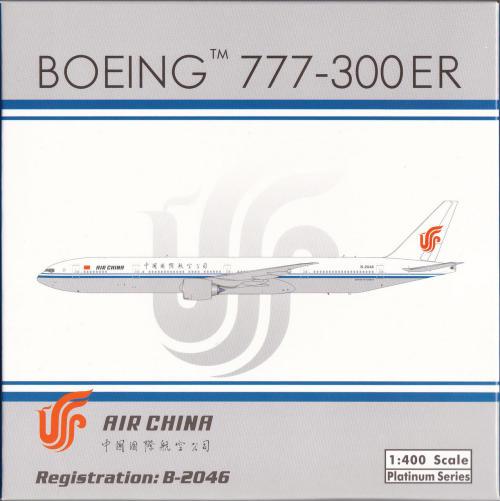 Air China 中国国际航空 Boeing 777-300ER B-2046  PH11283 Phoenix 1:400