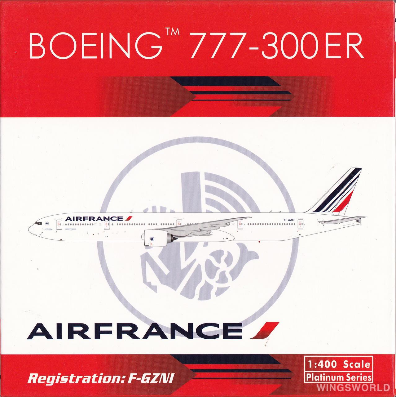 Phoenix 1:400 PH11134 Air France 法国航空 Boeing 777-300 F-GZNI
