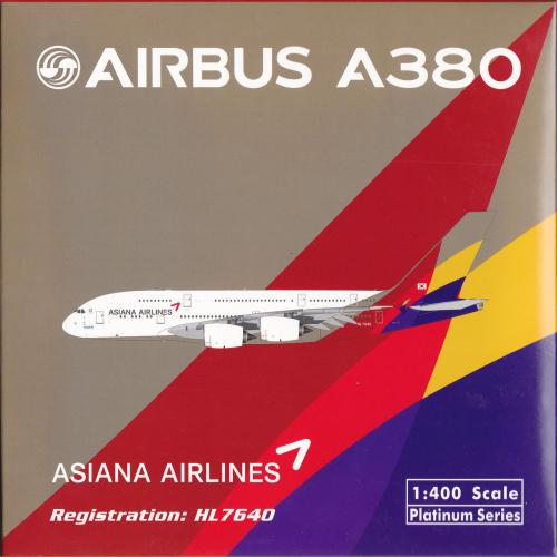 Asiana 韩亚航空 Airbus A380-800 HL7640  PH11516 Phoenix 1:400