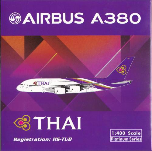 Thai Airways 泰国国际航空 Airbus A380-800 HS-TUD  PH11534 Phoenix 1:400