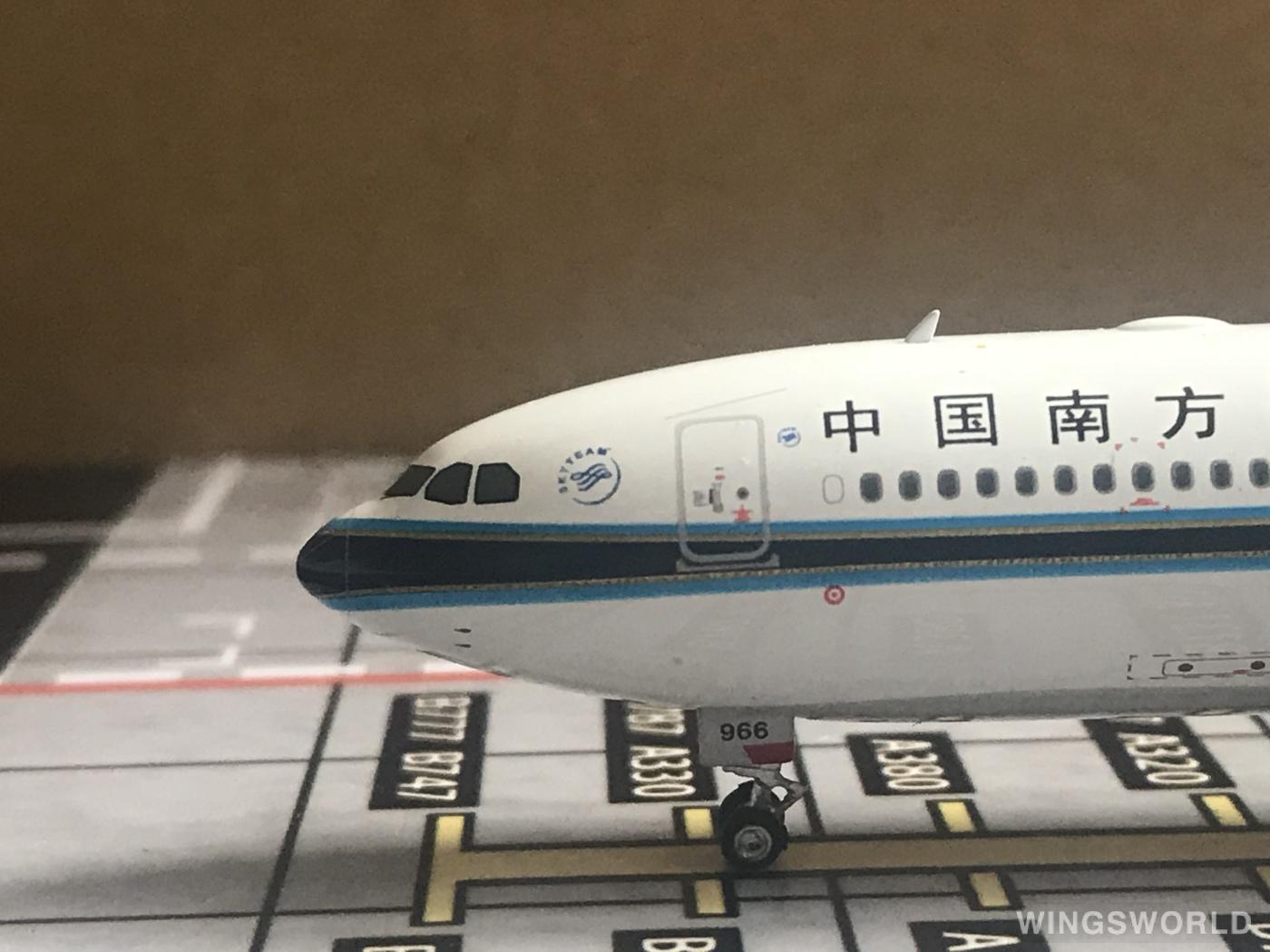 Phoenix 1:400 PH11381 China Southern 中国南方航空 Airbus A330-300 B-5966