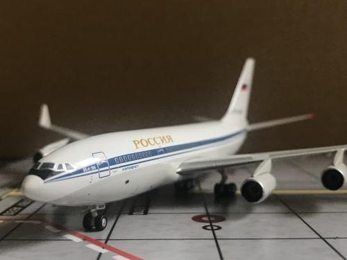 Aeroflot 俄罗斯航空 Ilyushin Il-96 CCCP-96005  PH10744 Phoenix 1:400