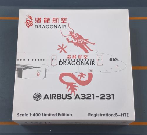 Dragonair 港龙航空 Airbus A321 B-HTE  HYJL81011 HYJLwings 1:400