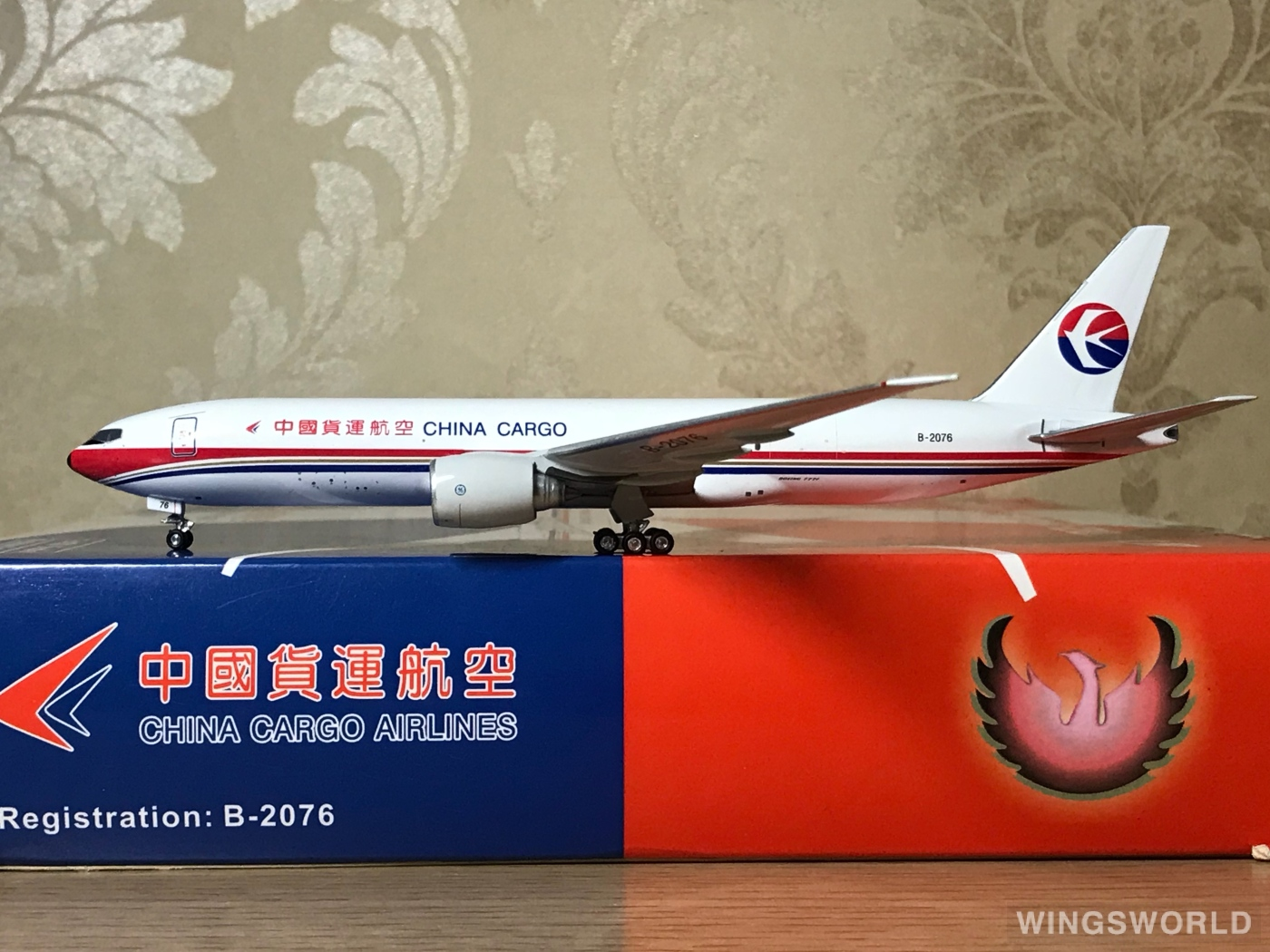 Phoenix 1:400 PH10430 China Cargo Airlines 中国货运航空 Boeing 777-200 B-2076