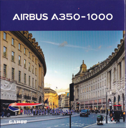 British Airways 英国航空 Airbus A350-1000 G-XWBB  PH04283 Phoenix 1:400