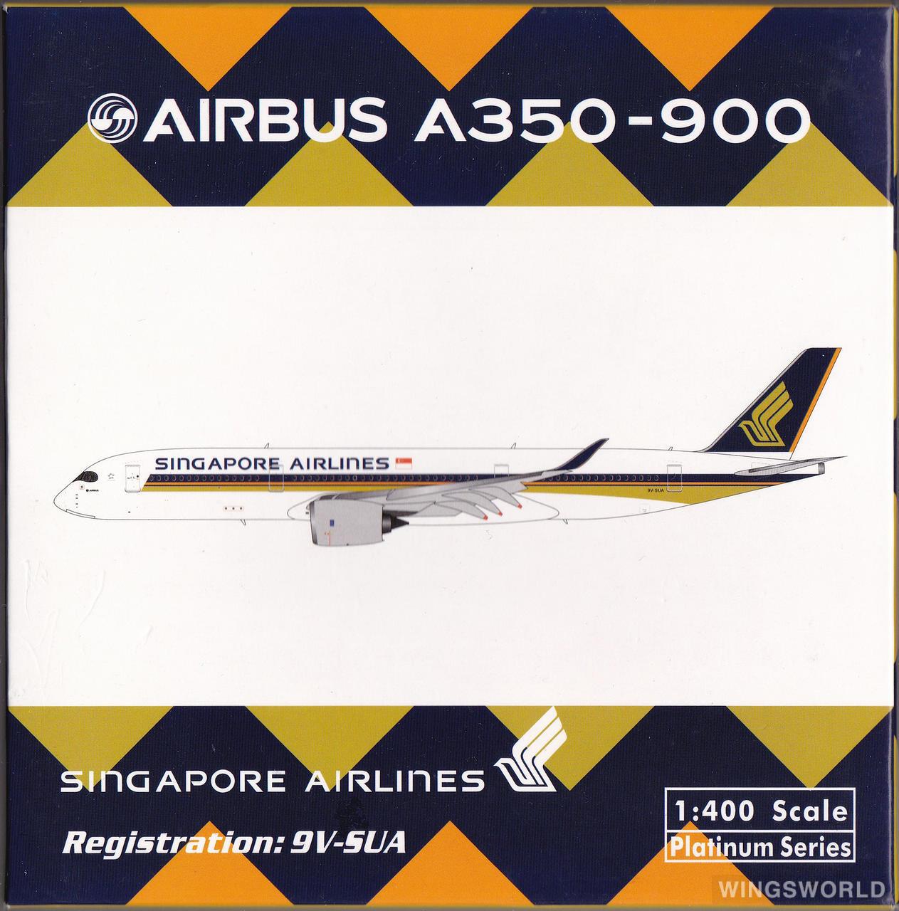 Phoenix 1:400 PH11000 Singapore Airlines 新加坡航空 Airbus A350-900 9V-SUA