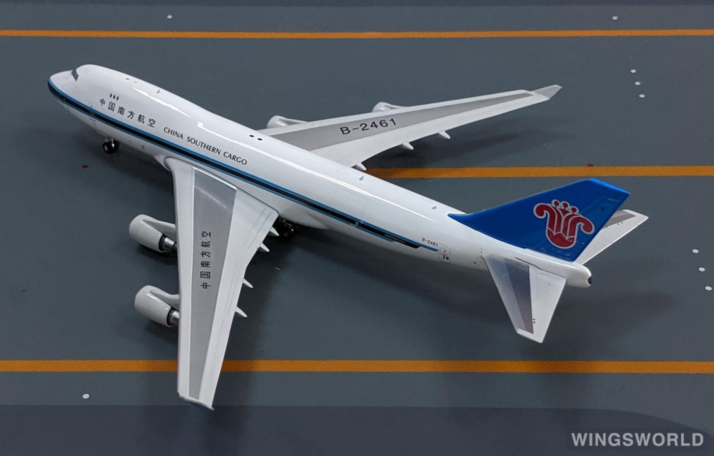 Phoenix 1:400 PH11368 China Southern 中国南方航空 Boeing 747-400 B-2461