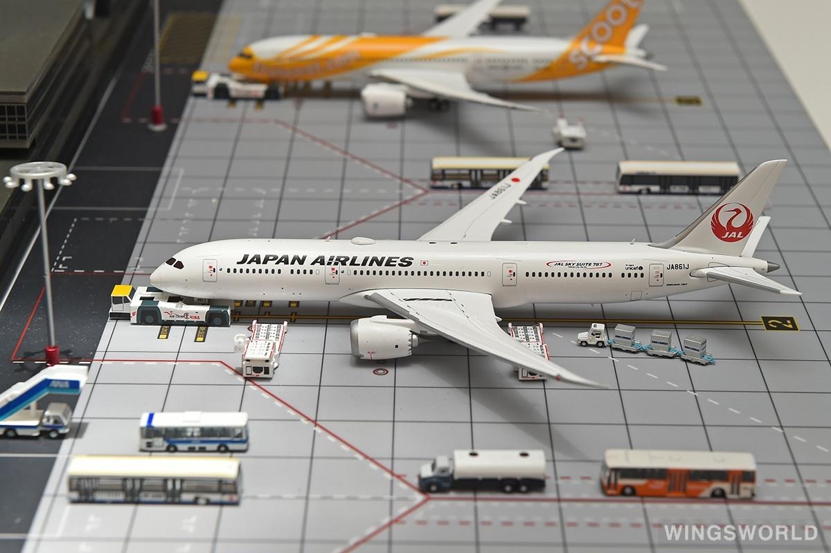 Phoenix 1:400 PH11138 Japan Airlines 日本航空 Boeing 787-9 JA861J
