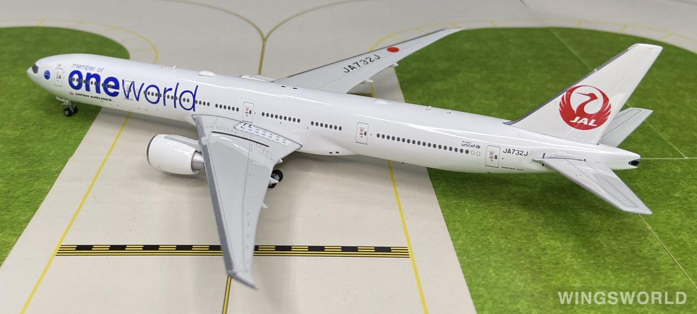 Phoenix 1:400 PH11184 Japan Airlines 日本航空 Boeing 777-300ER JA732J