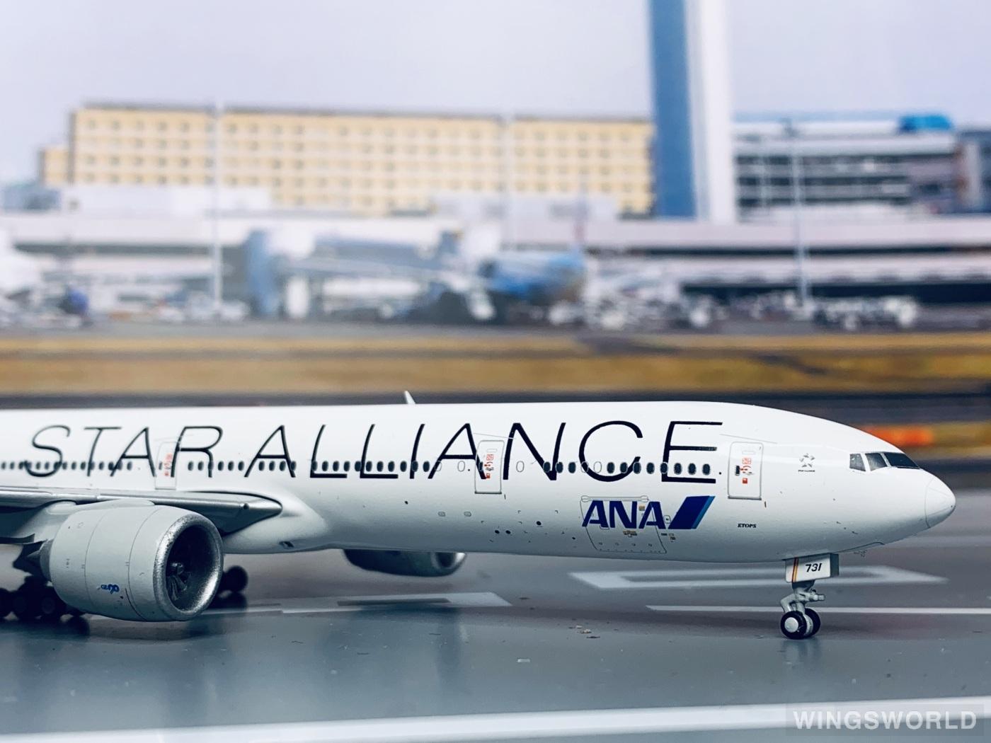 Dream Air 1:400 DAANA731 ANA 全日空 Boeing 777-300 JA731A