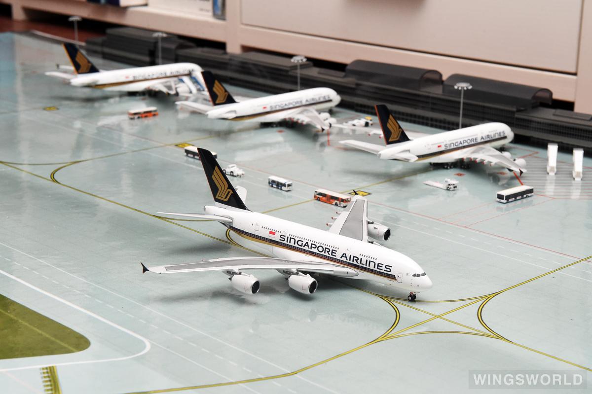 Phoenix 1:400 PH10337A Singapore Airlines 新加坡航空 Airbus A380-800 9V-SKB