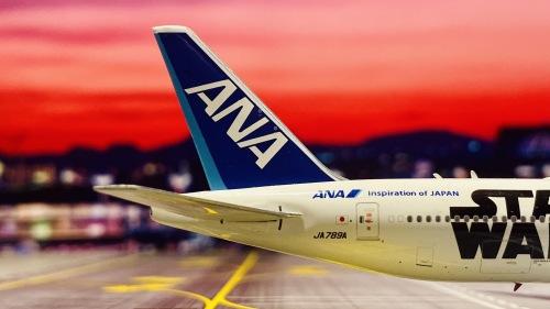 ANA 全日空 Boeing 777-300 JA789A 星战 PH4JA789A Phoenix 1:400