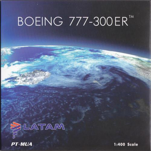 LATAM 南美航空集团 Boeing 777-300ER PT-MUA 星球大战 PH04311 Phoenix 1:400