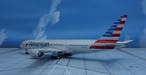 American Airlines 美国航空 Boeing 777-200 N775AN 2012s colors. GJAAL1322 Geminijets 1:400