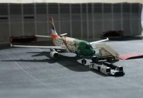 China Eastern 中国东方航空 Airbus A320 B-6639 世博彩绘 PH10423 Phoenix 1:400