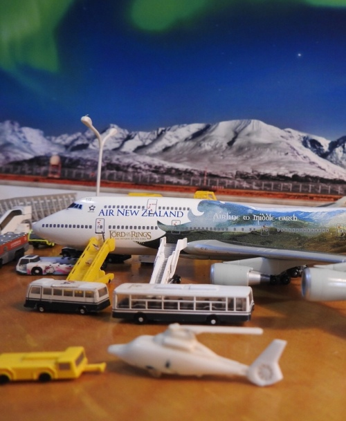 Air New Zealand 新西兰航空 Boeing 747-400 ZK-SUJ Lord of The Rings - Return of the King BSANZ744B Dragon Models 1:400