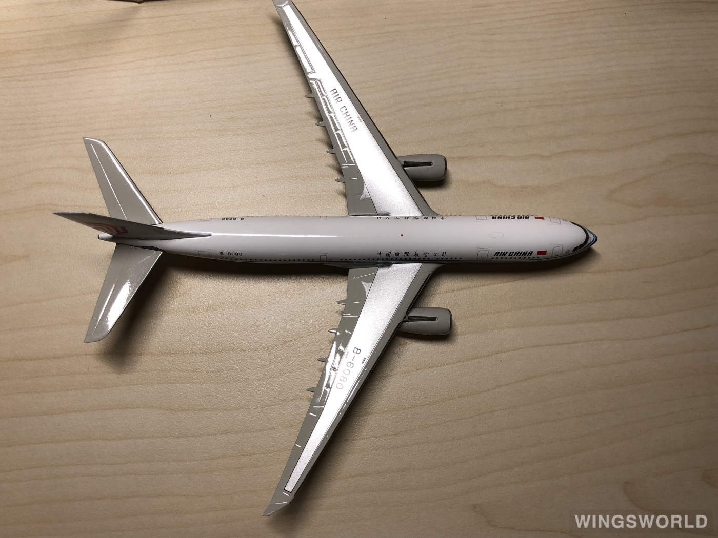 Phoenix 1:400 PH10438 Air China 中国国际航空 Airbus A330-200 B-6080