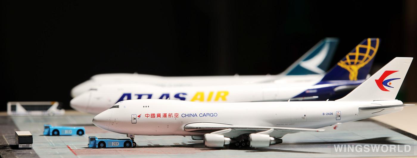 Phoenix 1:400 PH11521 China Cargo Airlines 中国货运航空 Boeing 747-400 B-2426