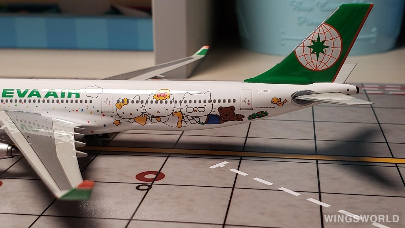 Phoenix 1:400 PHB16331 EVA Air 长荣航空 Airbus A330-300 B-16331
