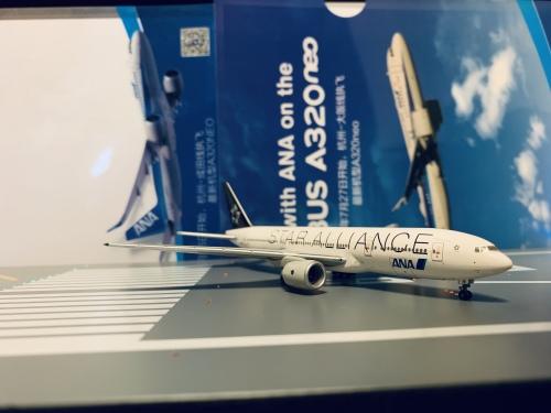 ANA 全日空 Boeing 777-200 JA711A 星空联盟 NH40002 Hogan 1:400