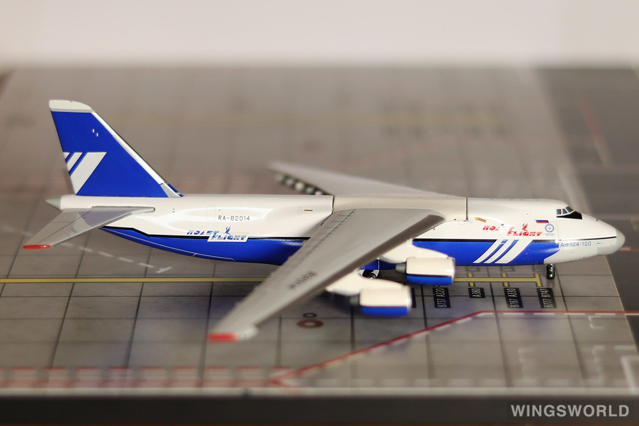 Geminijets 1:400 GJPOT510 Polet Airlines Antonov An-124 RA-82014