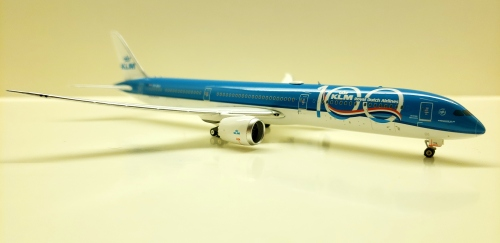 KLM 荷兰皇家航空 Boeing 787-10 PH-BKA 100周年 PH11551 Phoenix 1:400