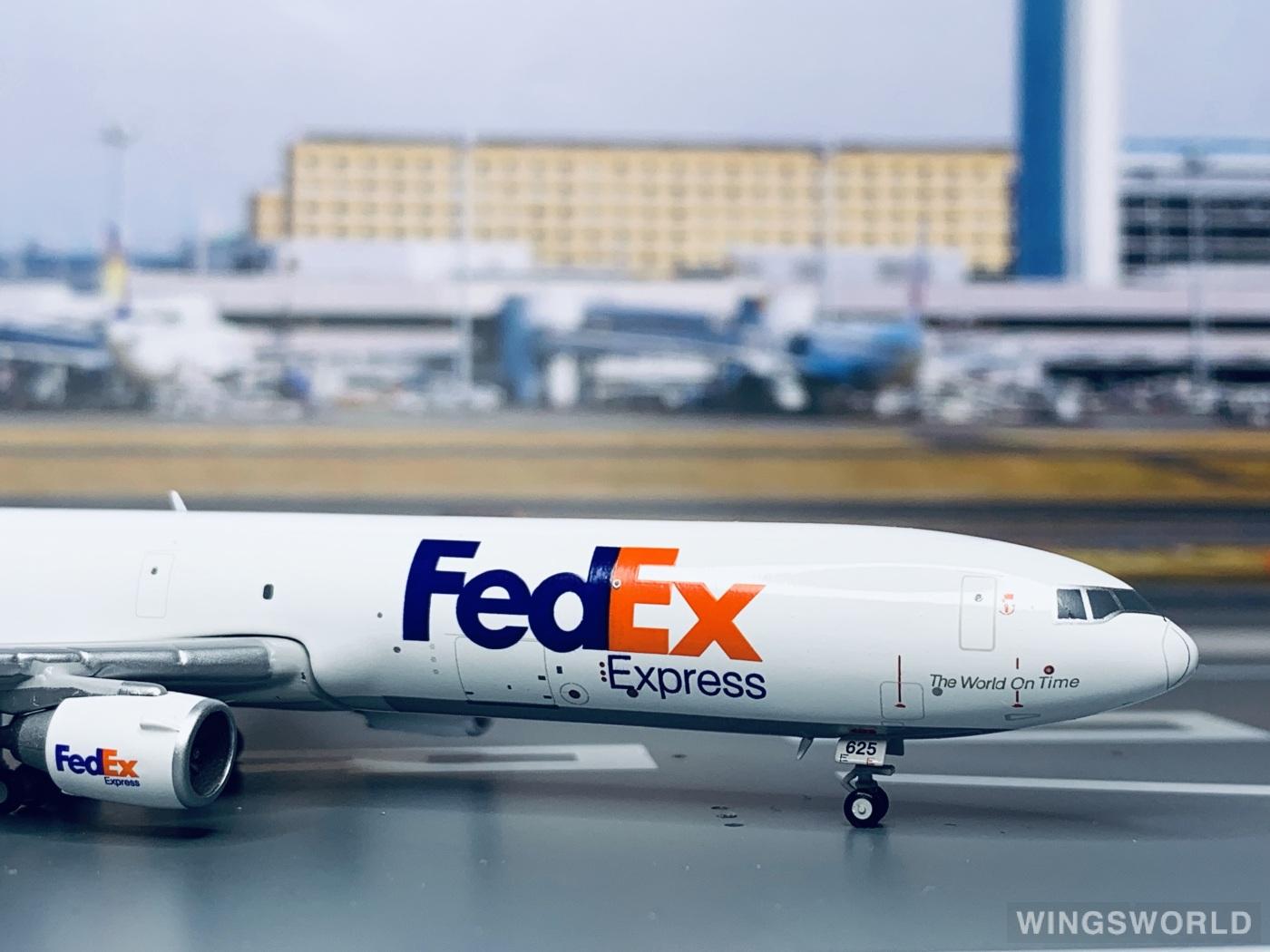 Geminijets 1:400 GJFDX1493 FedEx 联邦快递 McDonnell Douglas MD-11 N625FE