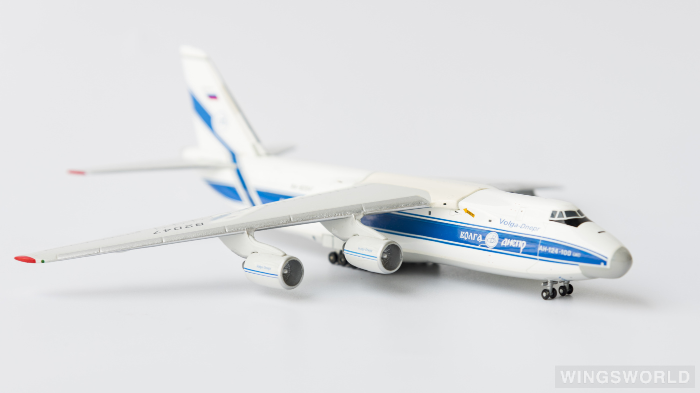Geminijets 1:400 GJVDA511 Volga-Dnepr 伏尔加-第聂伯航空 Antonov An-124 RA-82047