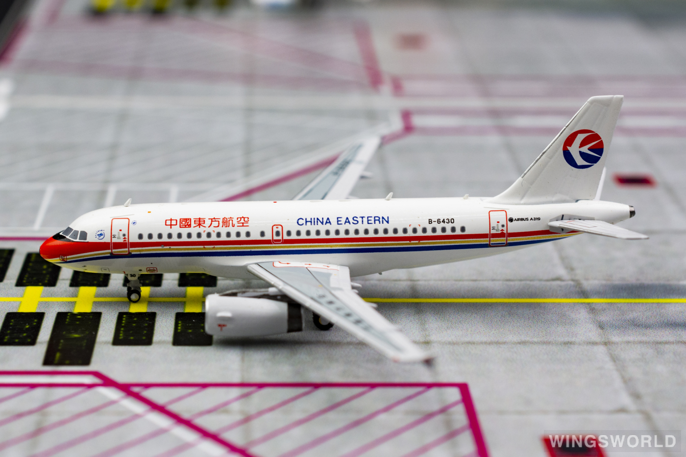 Pandamodel 1:400 PMB6430 China Eastern 中国东方航空 Airbus A319 B-6430