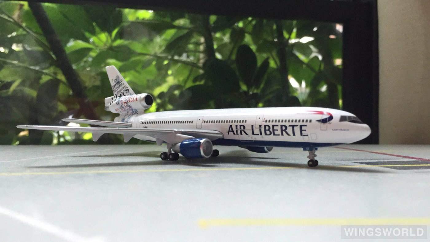 Geminijets 1:400 GJLIB413 Air Liberté McDonnell Douglas DC-10 F-GPVA