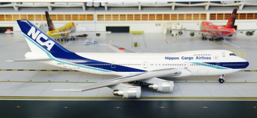 Nippon Cargo Airlines 日本货物航空 Boeing 747-200 JA8158  BB42004-021 Big Bird 1:400