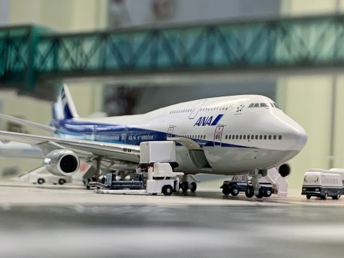 ANA 全日空 Boeing 747-400 JA8958  NHG40072 Hogan 1:400