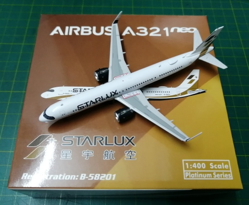 Starlux Airlines 星宇航空  Airbus A321neo B-58201  PH11594 Phoenix 1:400
