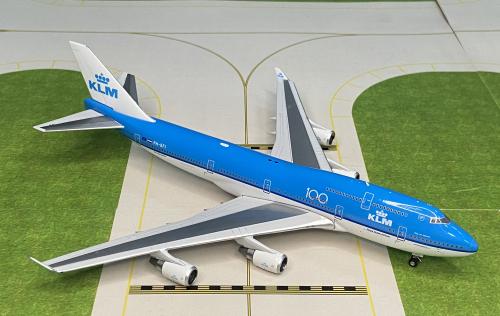 KLM 荷兰皇家航空 Boeing 747-400 PH-BFI 100周年 PH11590 Phoenix 1:400