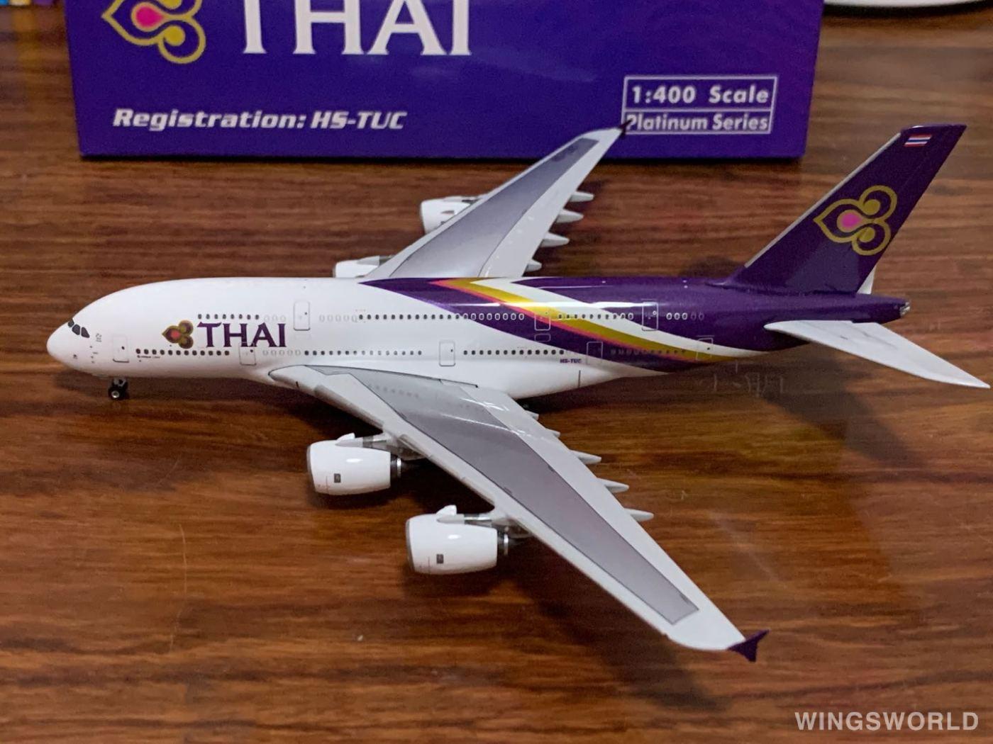 Phoenix 1:400 PH10727 Thai Airways 泰国国际航空 Airbus A380-800 HS-TUC