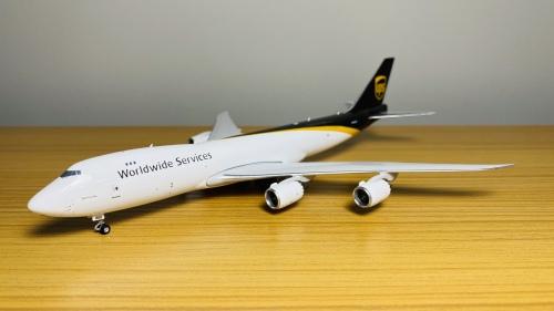 UPS 联合包裹公司 Boeing 747-8 N605UP  PH04166 Phoenix 1:400