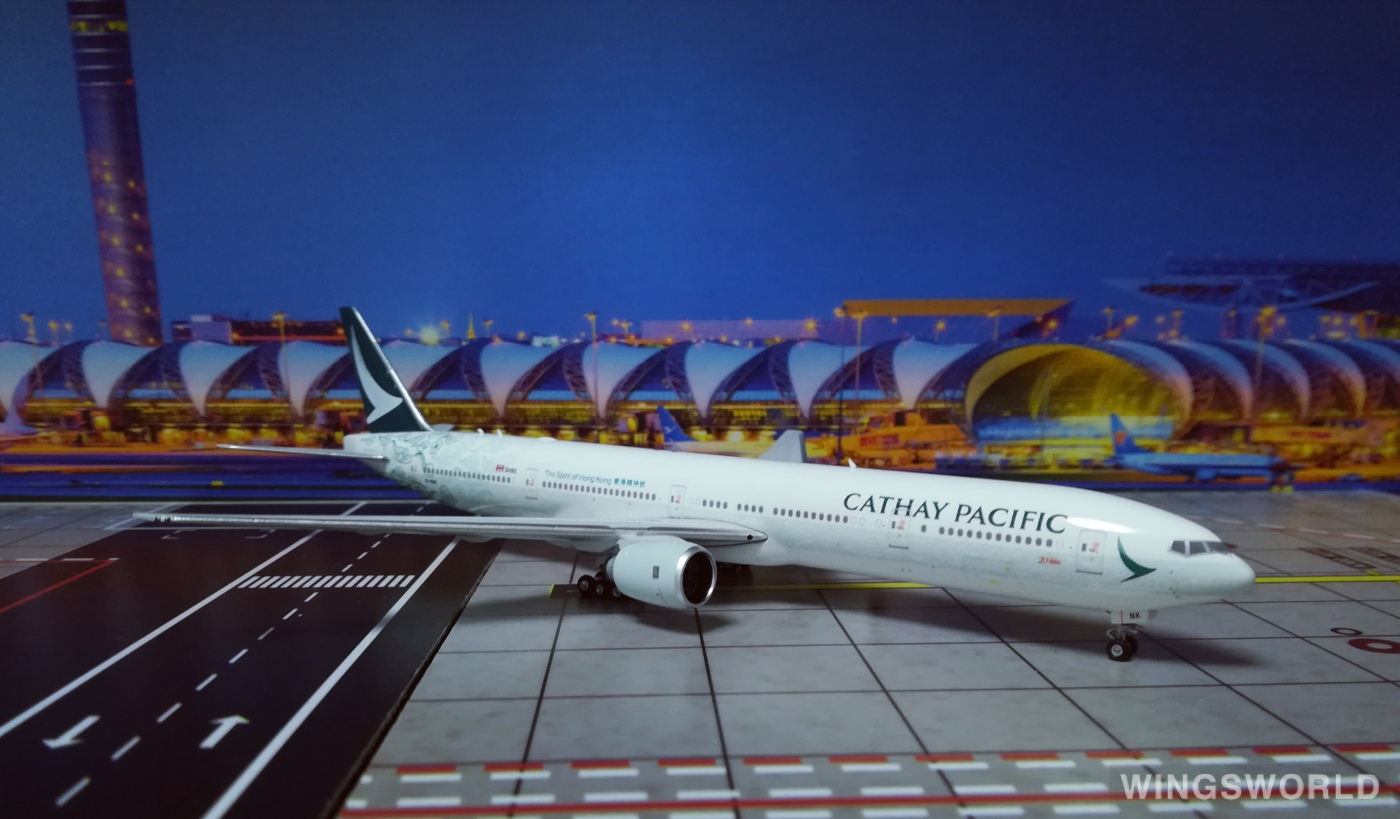 Phoenix 1:400 PH04146 Cathay Pacific 国泰航空 Boeing 777-300 B-HNK