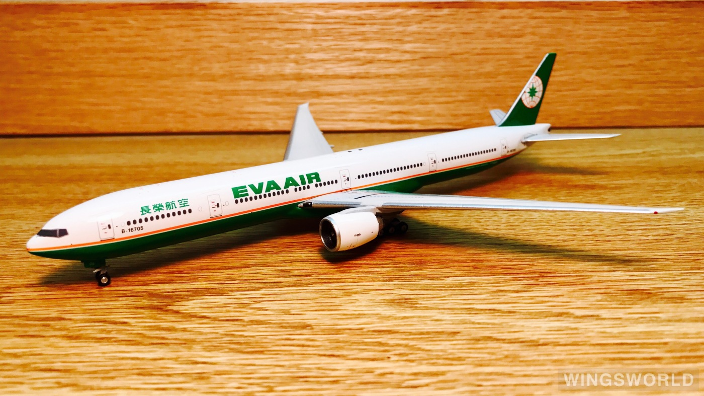 Phoenix 1:400 PH10202 EVA Air 长荣航空 Boeing 777-300ER B-16705