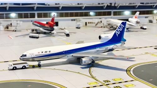 ANA 全日空 Lockheed L-1011 TriStar JA8522  BBJA8522 Blue box 1:400
