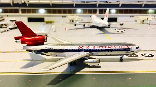 Northwest Orient 美国西北东方航空 McDonnell Douglas DC-10 N143US  ACN143US AeroClassics 1:400