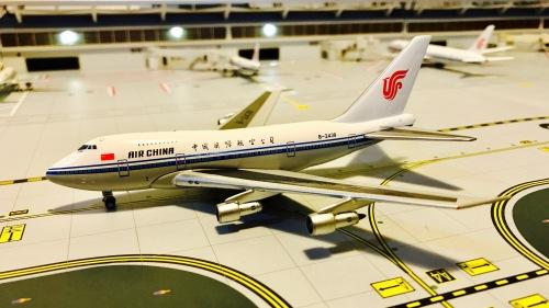 Air China 中国国际航空 Boeing 747SP B-2438 JC代工,GJ模具. SKY-057S Skywings 1:400