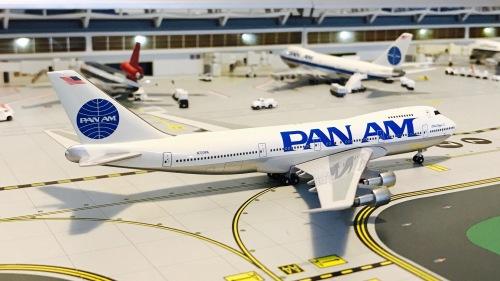 Pan Am 泛美航空 Boeing 747-100 N723PA China Clipper II BB4-2005-XX Big Bird 1:400